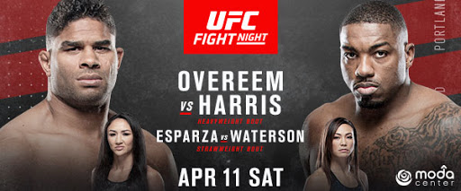 Whos Got Overeem Losing Tonight Besides Me? Mybad Did Not Know There was Another Fight Card this Weekend? UFC Fight Night Overeem vs Harris!!!! WELCOME BACK UFC!!!!