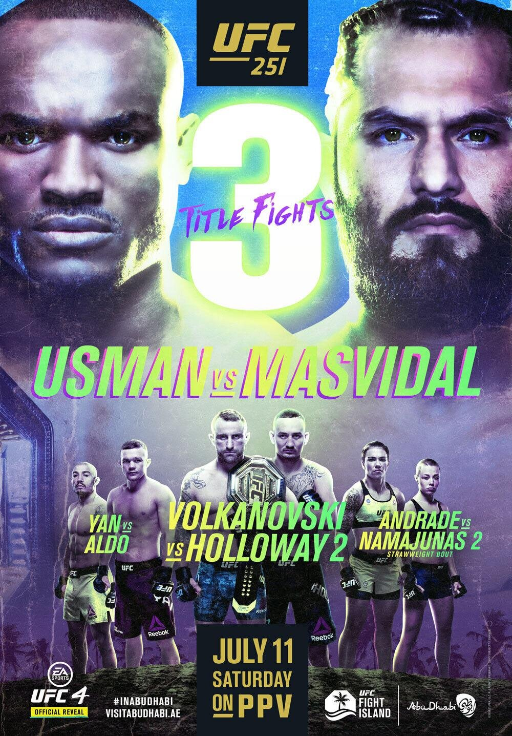Just Wanted Give You All an Update!!!! & UFC 251
